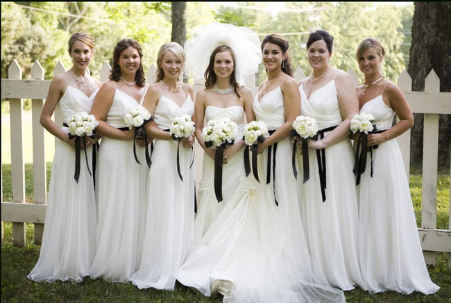 Dressing your bridesmaid