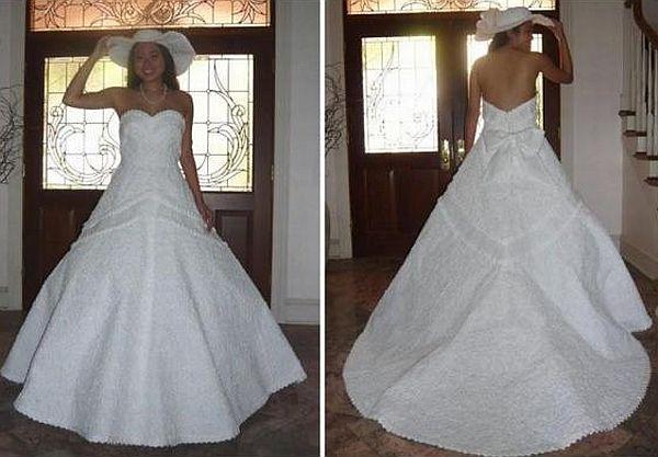 Cheap chic wedding dress