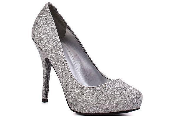 Cloth Upper Stiletto Heel Pumps Wedding Shoes