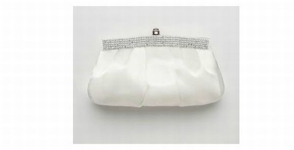 Crystal Trimmed Bridal Clutch Style HBFANTASTIC