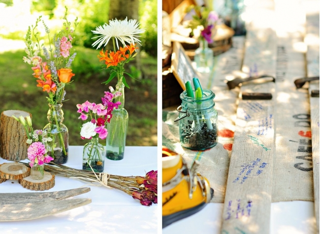 Eco-friendly wedding decoration ideas