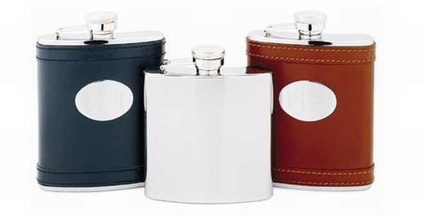 Engraveable Stainless Steel Flasks