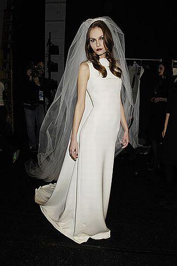 fall 2007 ready to wear tuleh wedding gown