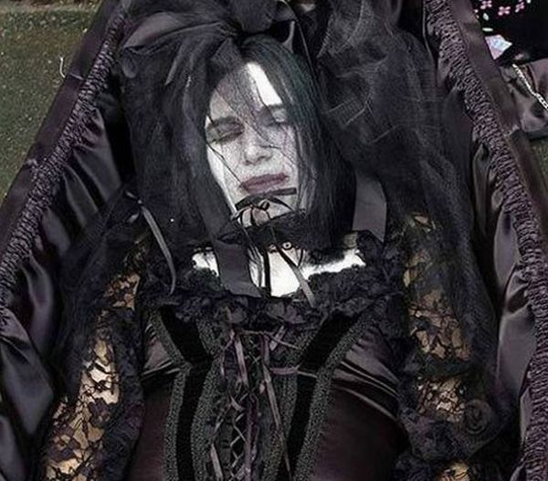 Goth Wedding Gown