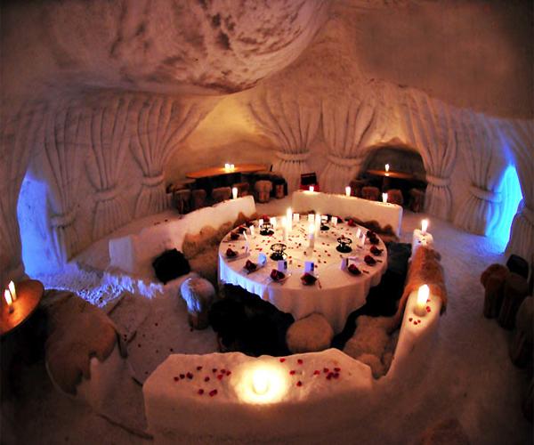 Igloo wedding