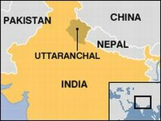 indian wedding accident uttranchal map 6