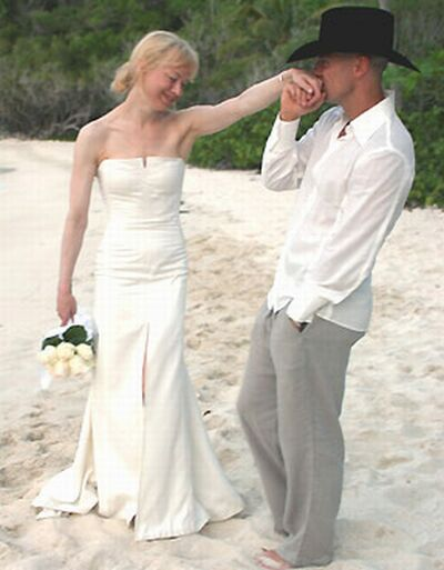 john galliano wedding gown