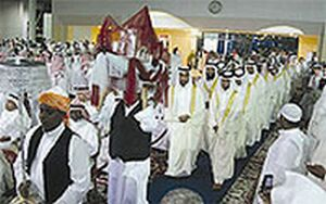 mass saudi weddings
