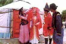 mongolian wedding style