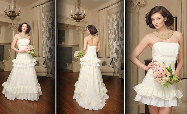 Morgan Boszilkov wedding dress