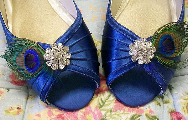 Nature inspired wedding shoes