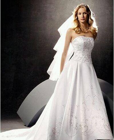 oleg cassini bridal gown 3