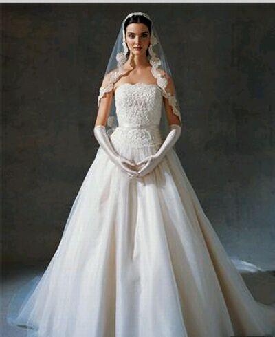 oleg cassini bridal gown 4