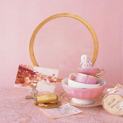 Pink and gold inspiration