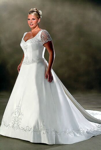 plus size bridal dress 1