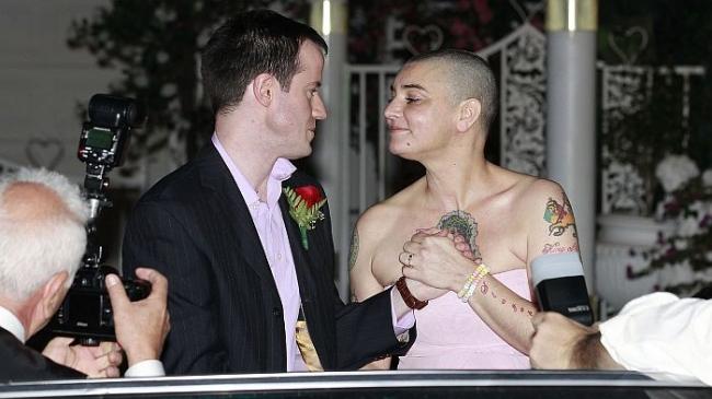 Sinead O'Connor wedding
