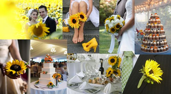 Sunflower Wedding Theme To Brighten Up Your Wedding