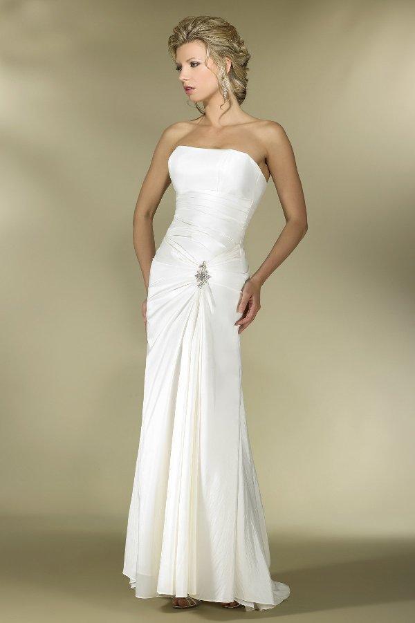 Taffeta A-line Gown by Alexia Informals