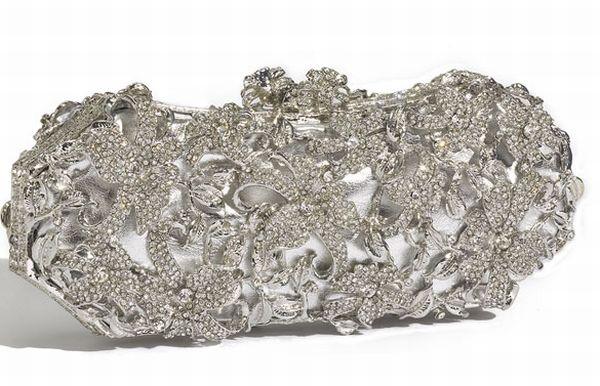 Tasha 'Crystal Floral' Clutch