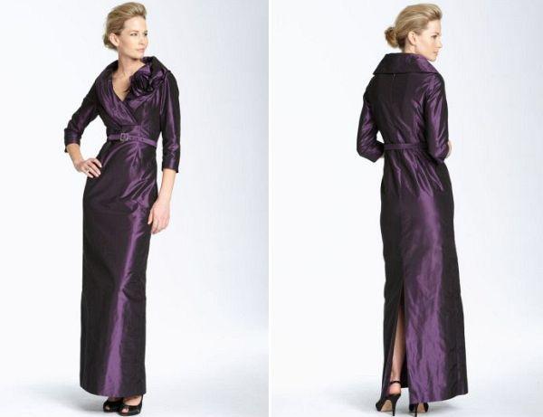Teri Jon wedding gown