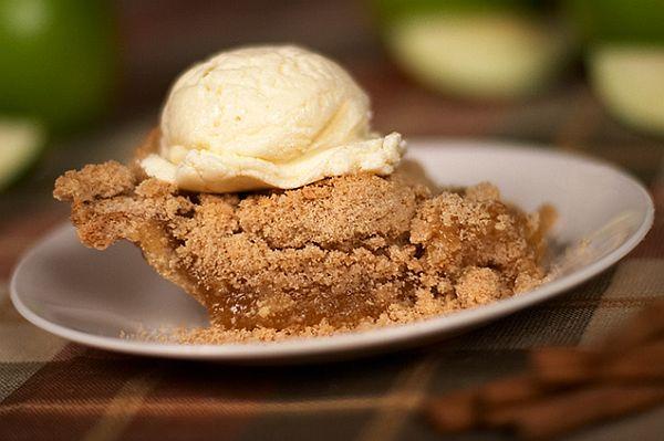 The apple pie ala mode