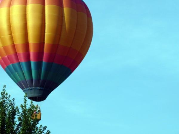 The Little Rock Hot Air balloon
