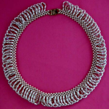 vintage bridal necklace 57