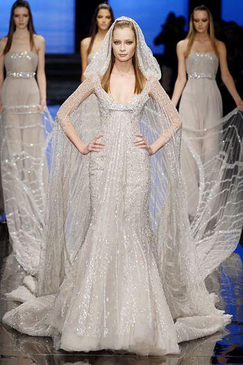 wedding gown by elie saab