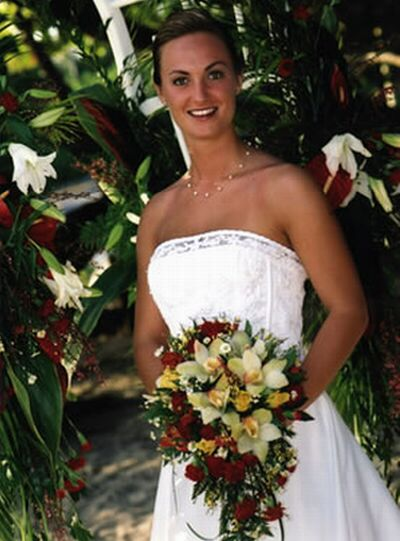 weddings bridal gown bridal flowers