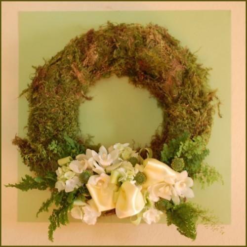 Woodland wedding wreath