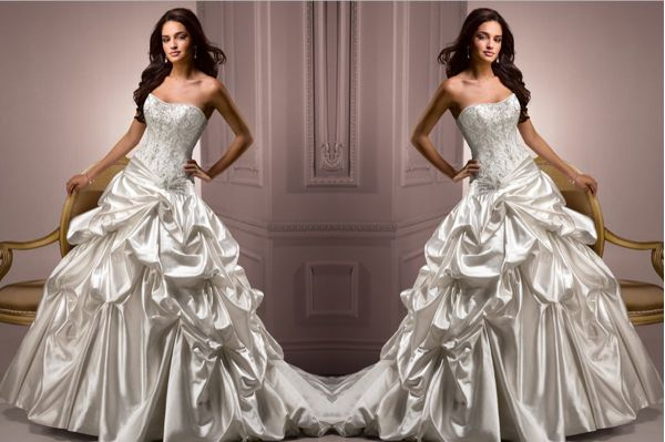 55f45d70c67 Maggie Sottero s bridal collection  Impeccable styling for brides in 2012