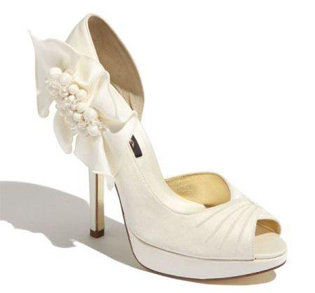 81914b1d321e Ivory Wedding Shoes  10 Most Beautiful - Wedding Clan