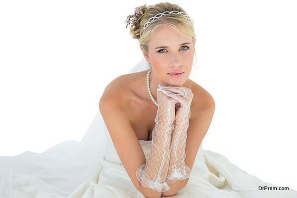 Jewellery of bride