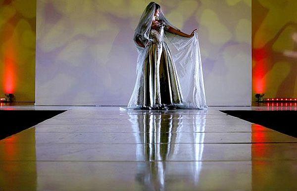 Platinum Wedding Dress  Designed by Mauro Adami