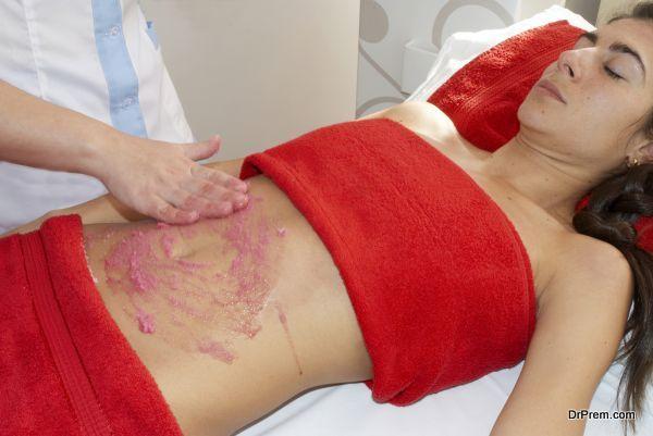 Receiving Health spa