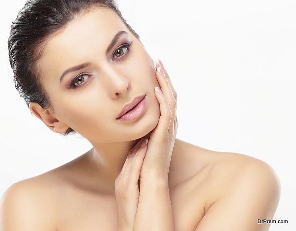 facial skin renewal process