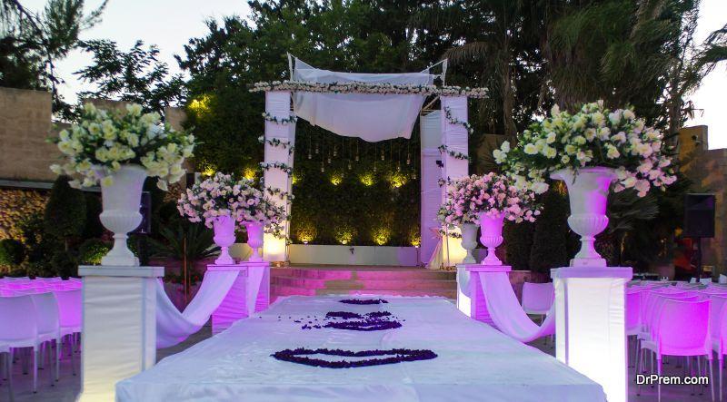 Jewish wedding decoration