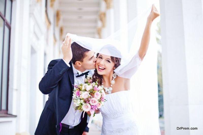 Trending wedding colour scheme