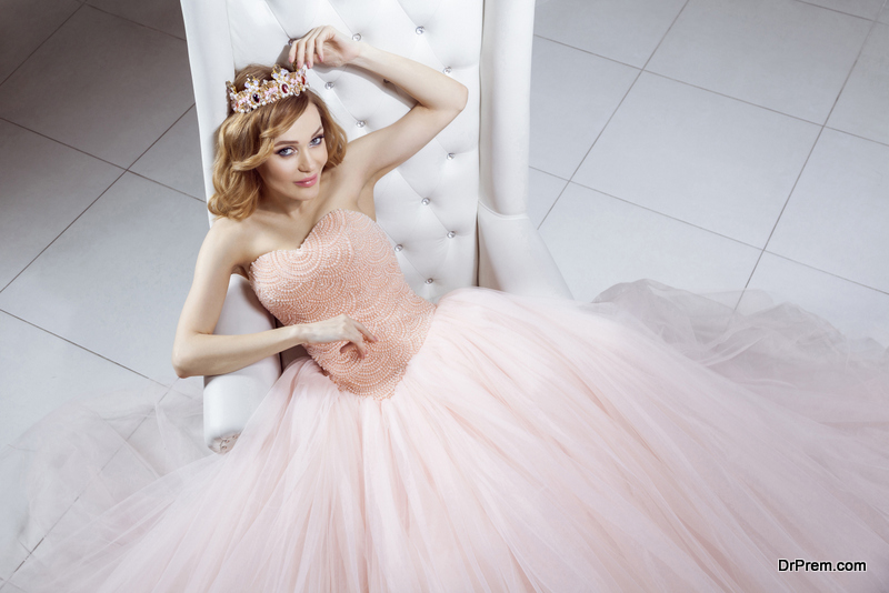 Ball gown style