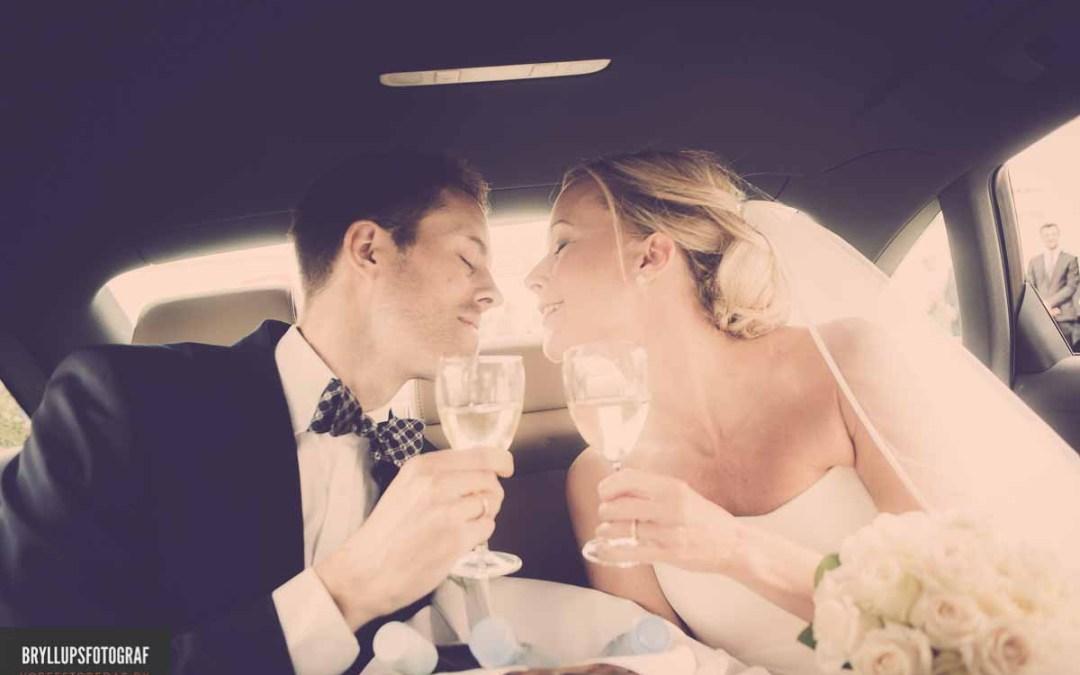 Bryllupsfoto ved bryllupsfotograf