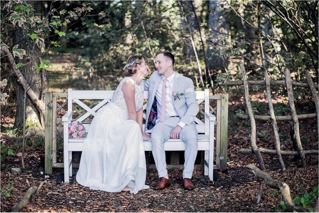 brudepar foto