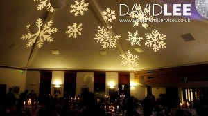 Image Projection Snowflakes