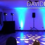 Beeston Manor Wedding and Uplighting