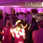 Disco and lighting at Worsley Marriott