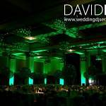 Green Venue up-Lighting Manchester