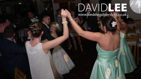 Brookdale Golf Club Wedding DJ and Lighting