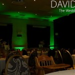 Alderley Edge Wedding Lighting Cheshire