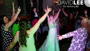 Bride and guests Old Grammar School