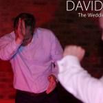 Rocking out at Lancashire Wedding