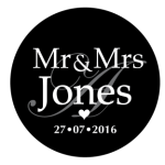 Mr & Mrs Monogram 17